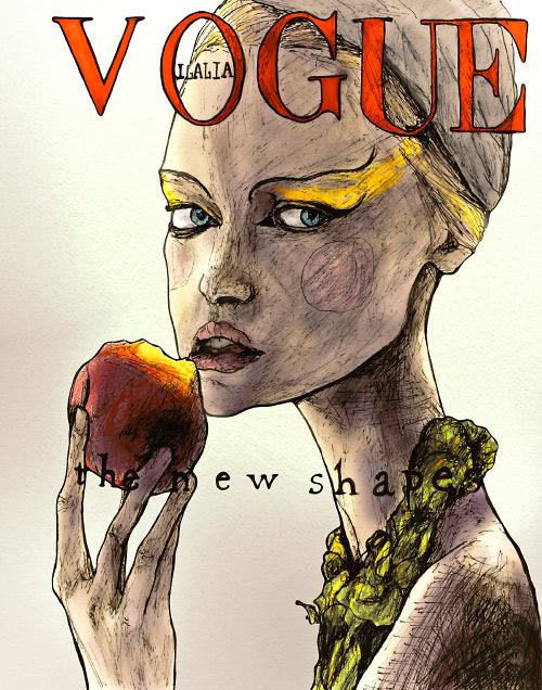 Gemma Ward Italian Vogue