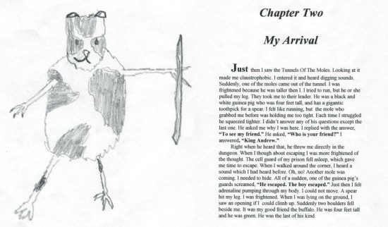 Chapter 2 – My Arrival