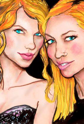 Brandi Cyrus & Taylor Swift