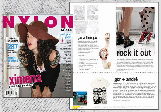 Nylon Mexico – Shirt Feature