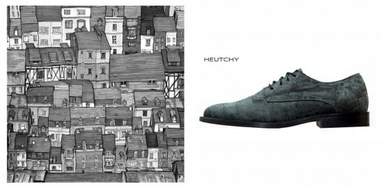 Heutchy Shoe Collaboration