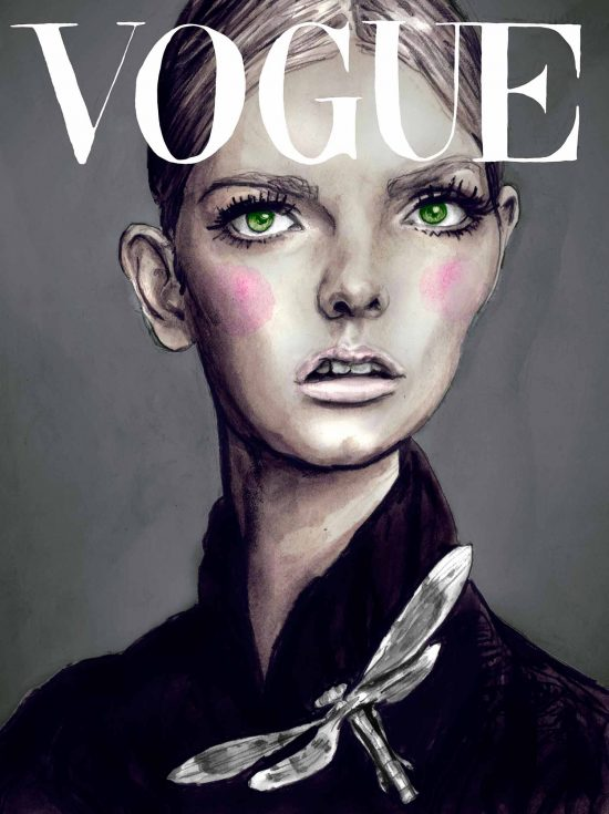 Lydia Hearst on the Cover of Vogue