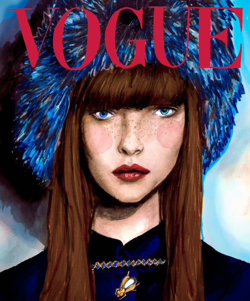 Polina Kouklina Vogue Cover