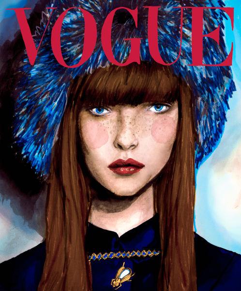Polina Kouklina Vogue Cover