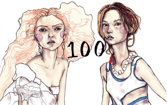 Lily & Gemma Book Drawing 100