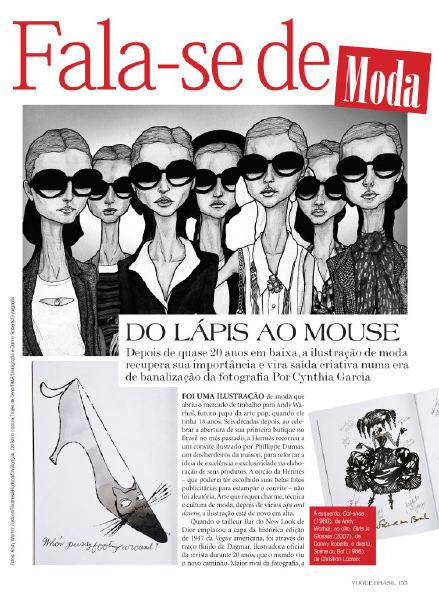 In Vogue Brazil!