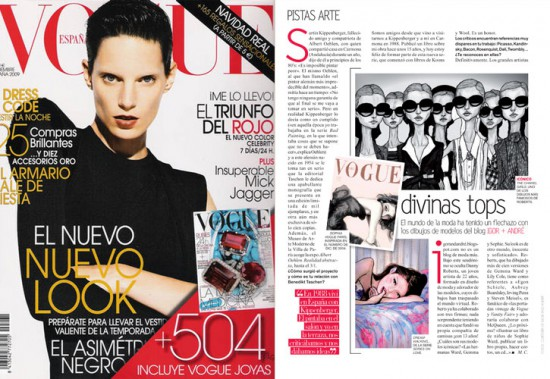 Thank you Vogue Spain!