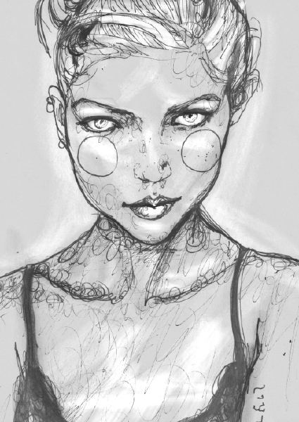 Kaja Sokola Scribble Sketch