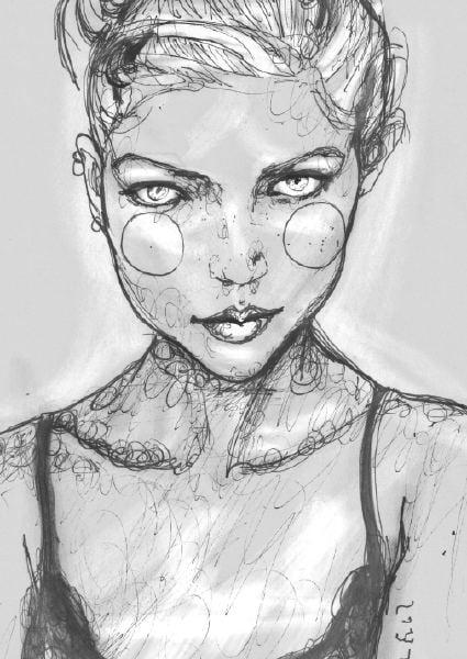 Kaja Sokola Scribble Sketch
