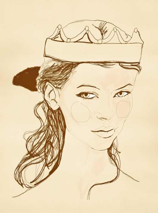 Quick Princess Sketch ;)