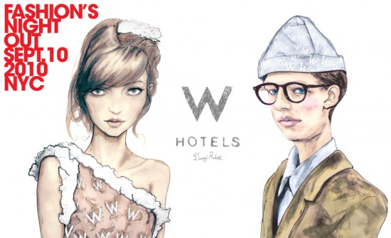 W Hotels Fashion's Night Out