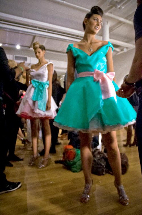 The Dresses I Designed for Caravan Show