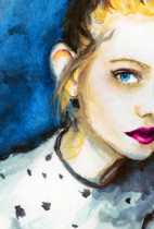 Elle Fanning Time-lapse Painting
