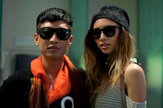 Rumi & BryanBoy At Chris Benz