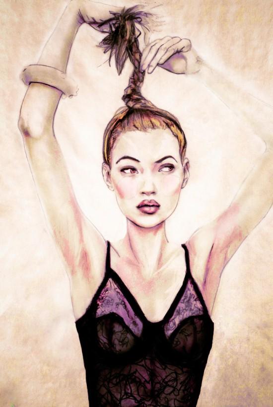 Portrait of Kate Moss part 2