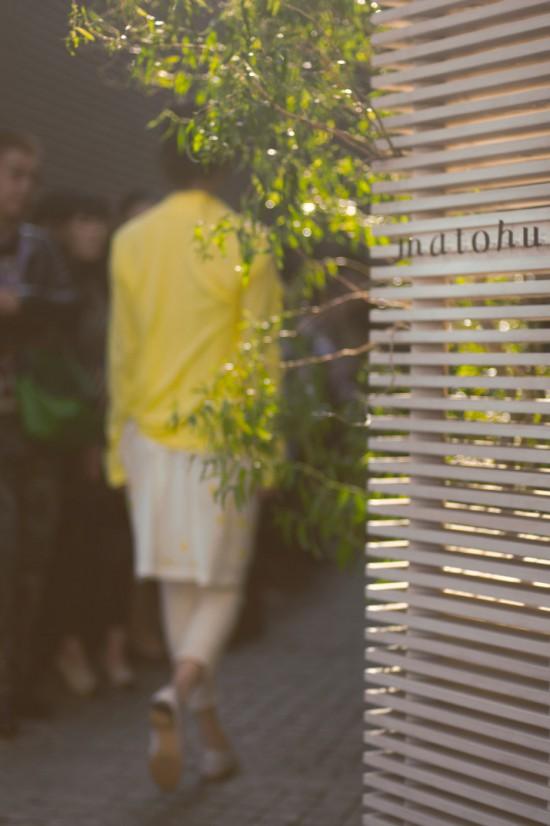 Matohu Spring 2012 Tokyo Fashion Week