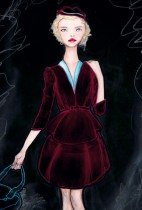 The Velvet Dress Girl