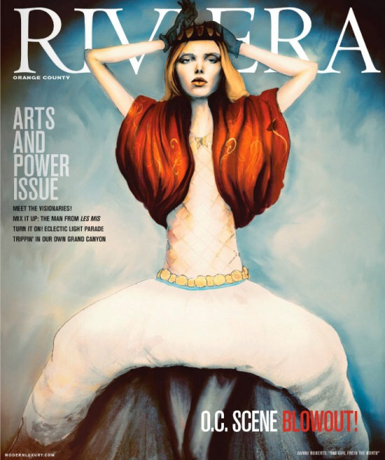 My Riviera Magazine Cover
