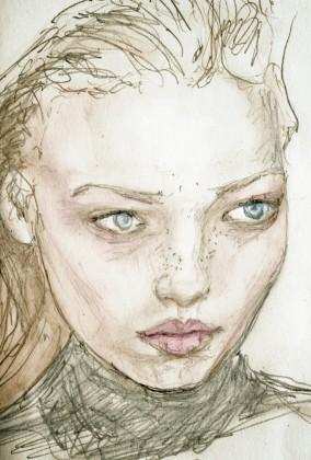 Polina Kouklina Study Sketch