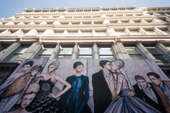 A Moment in Love – Tiffany & Co Mural