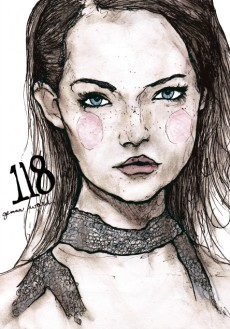 Gemma Ward Character Sketch Book 118