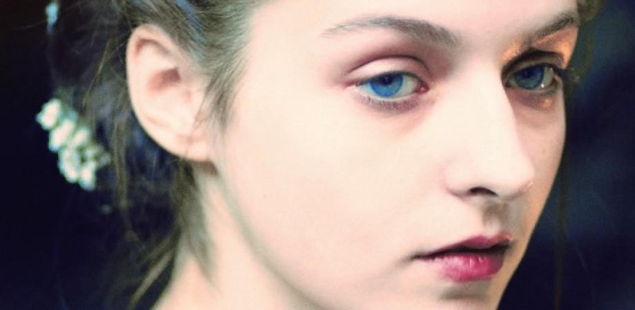 The Blue Eyes of Ekatarina Sokolova At Rachel Antonoff Presentation