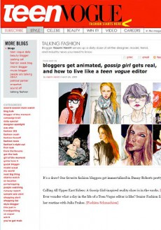 Teen Vogue – Blogger Portrait Feature