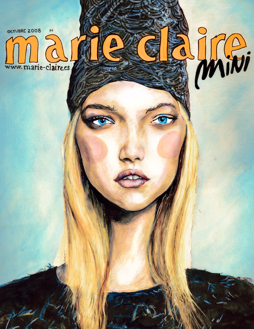 Marie Claire Spain!