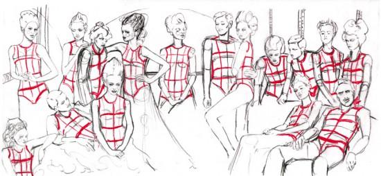 Fashion Drawing SkillShare Art Class