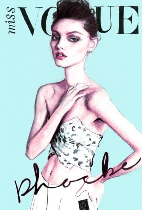 Phoebe Tonkins Miss Vogue