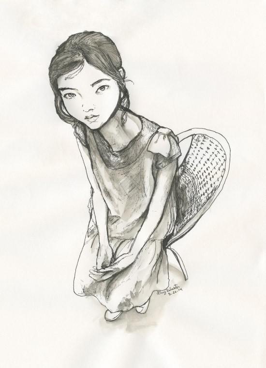 Jung Hye Won – Breakfast Sketch