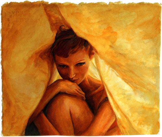 Through the Sheet – Mona Johannesson