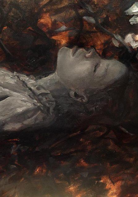Julia Hafstrom Under Painting