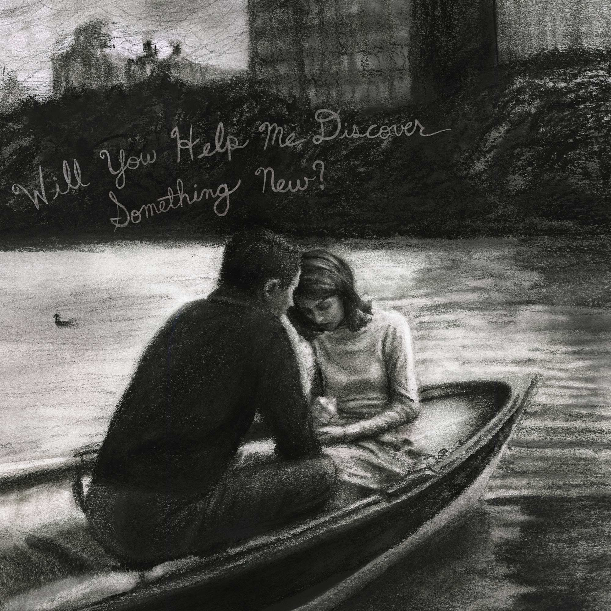 a Couple sitting in a boat romantic love Danny Roberts valentines