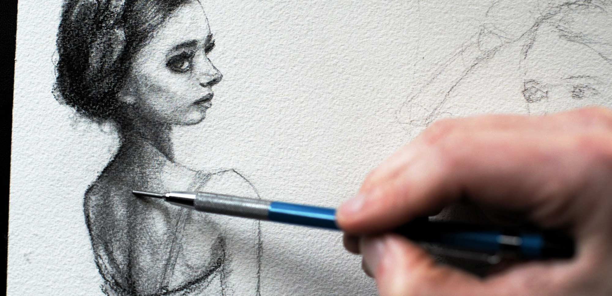 Artist Danny Roberts sketch of Russian ballerina Postnova Stanislava rubytear Video thumbnail