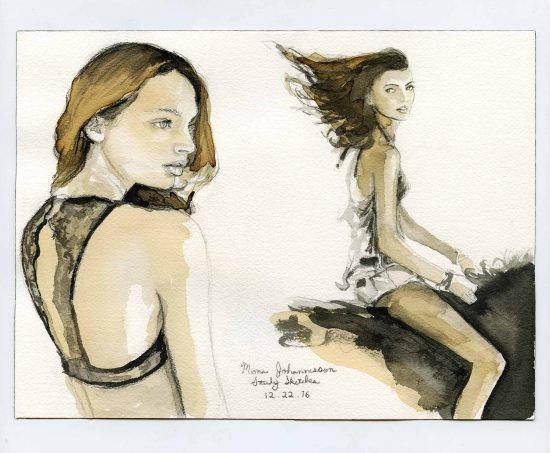 MonaJohannesson – Daily Gesture Sketches