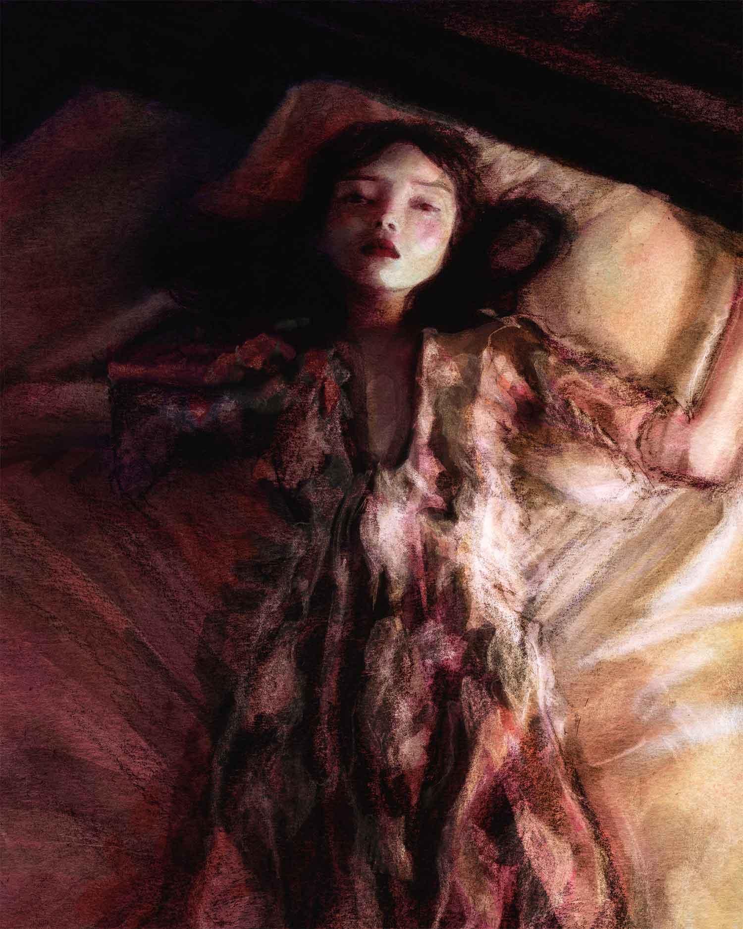 Artist Danny Roberts Fashion illustration of Japanese Fashion Brand malamute Fall 2020 winter Collection
