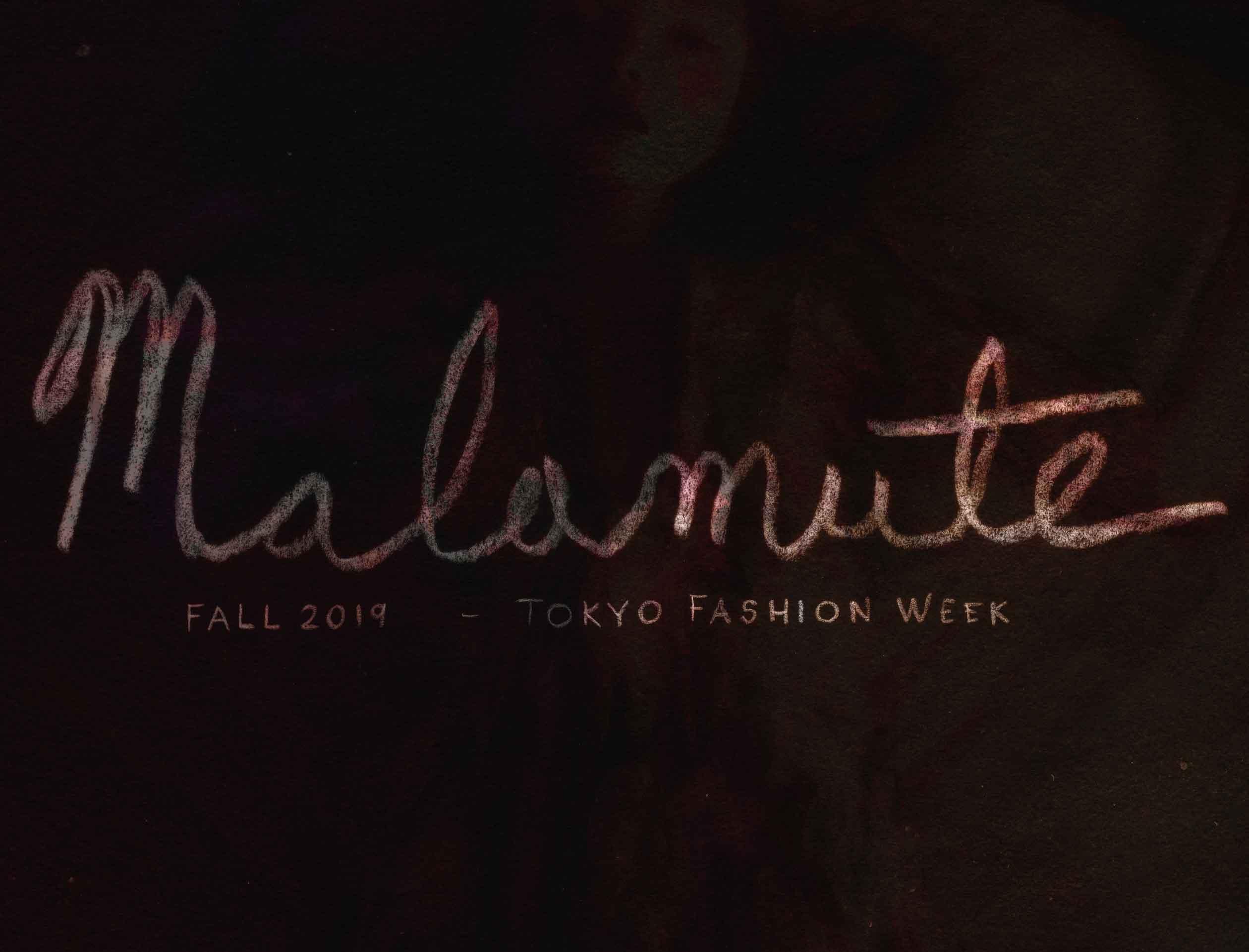Malamute Fall 2019 Tokyo Fashion Week