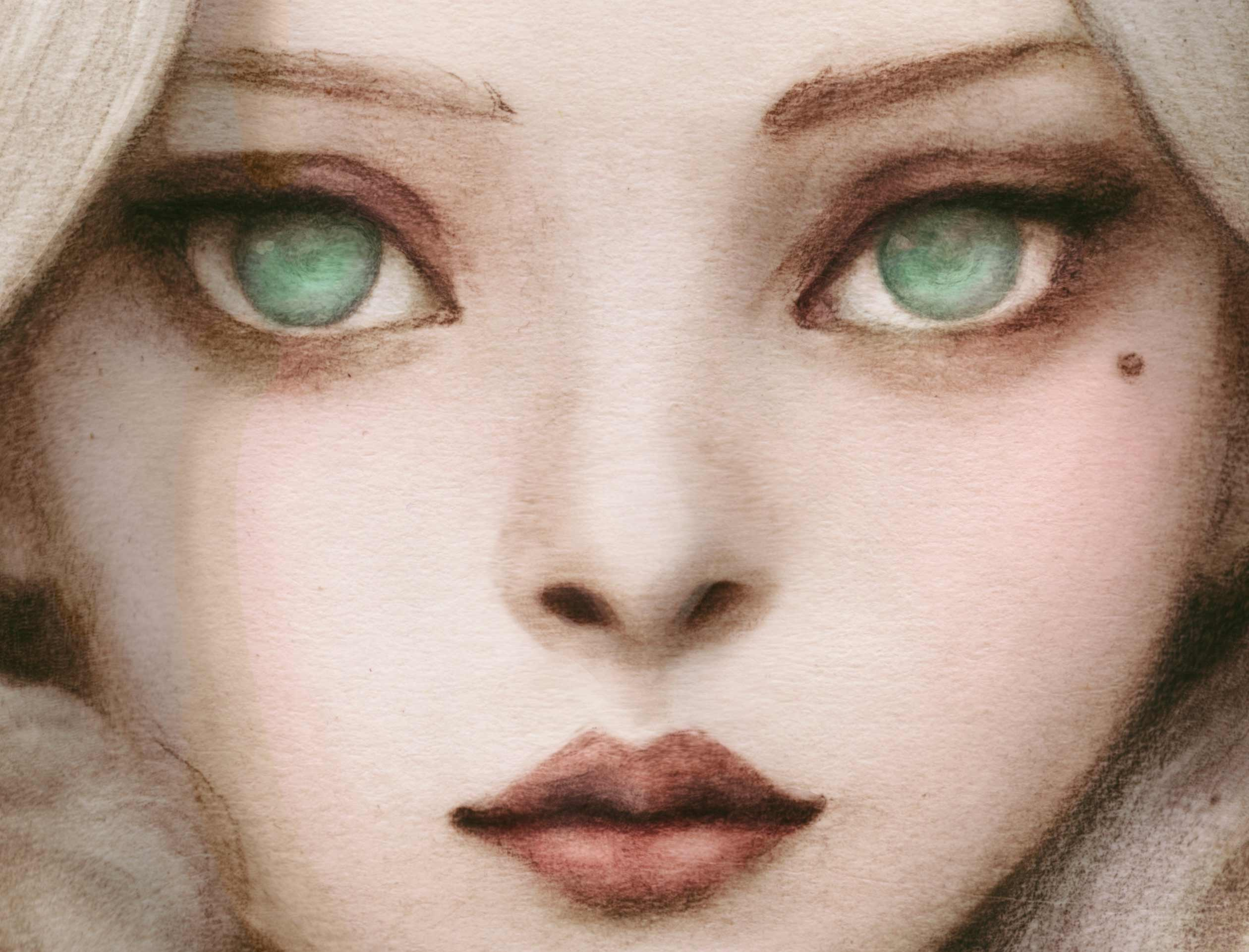 Close up of little Girls Face Camille of the trees 2019 redesign character design