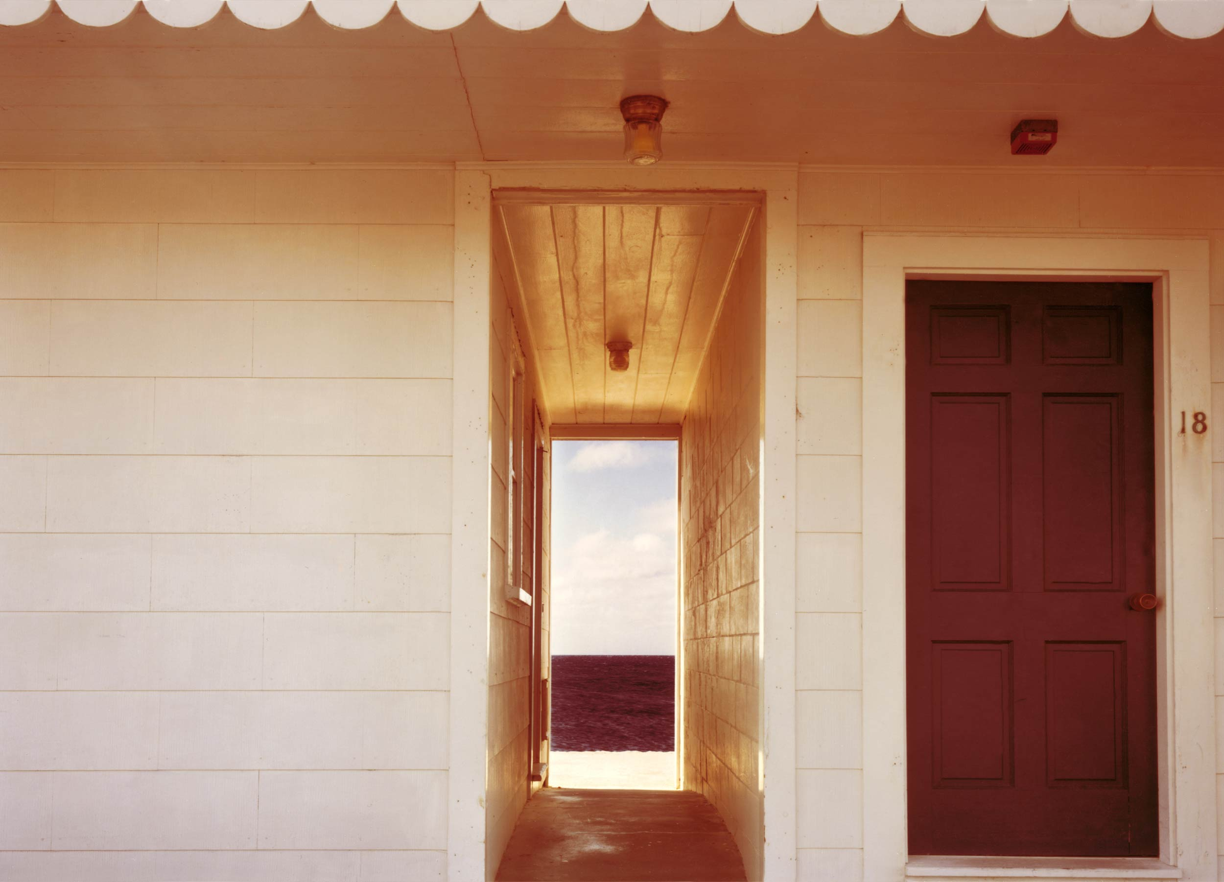 Joel Meyerowitz Doorway to the Sea, Provincetown, 1982