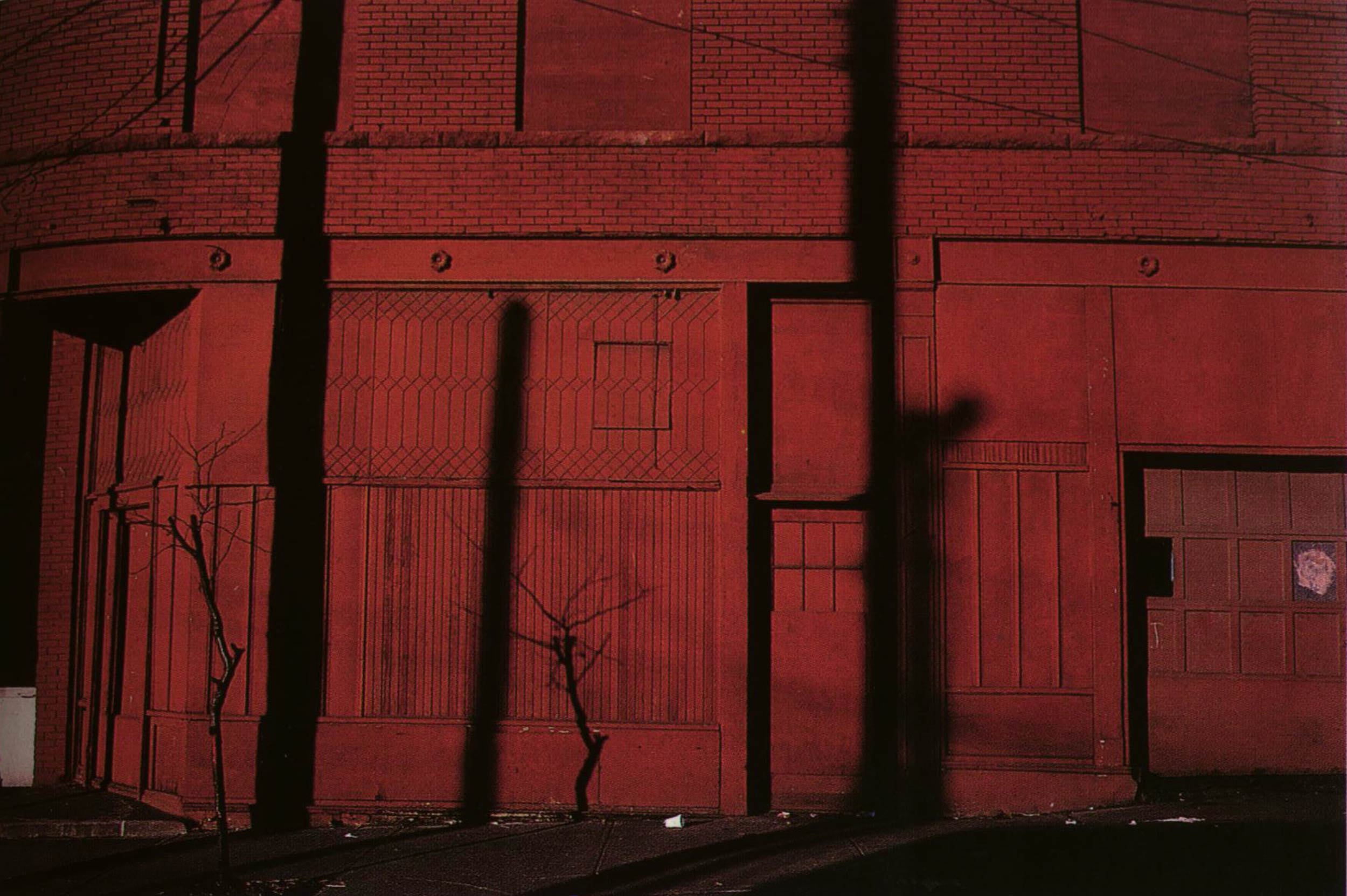 Harry Callahan kansas city, 1981