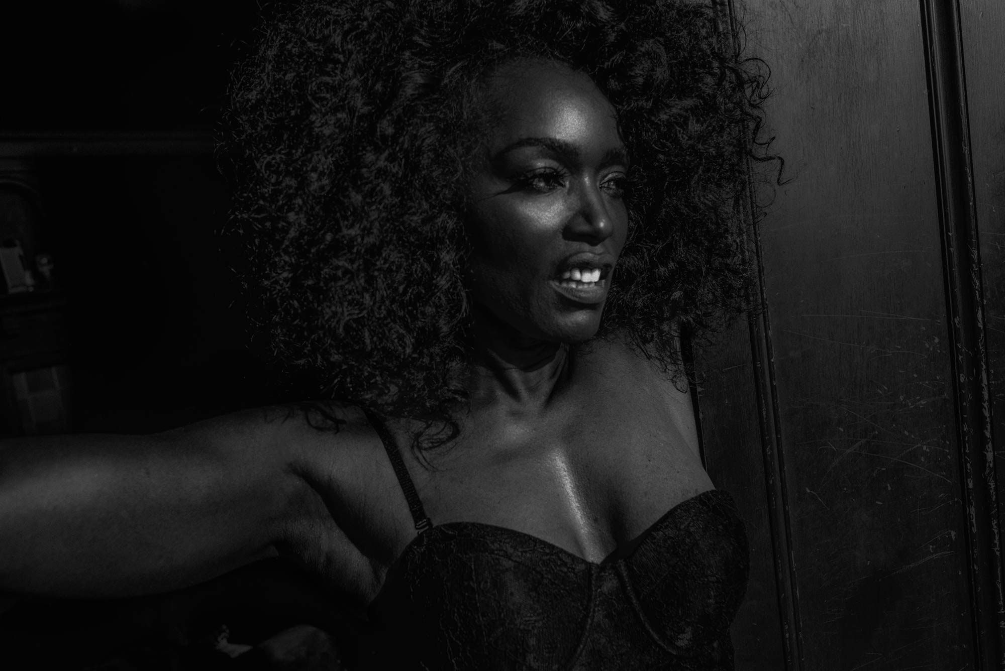 Photo of AngelaBassett for lady gaga v magazine shoot by Chadwicktyler