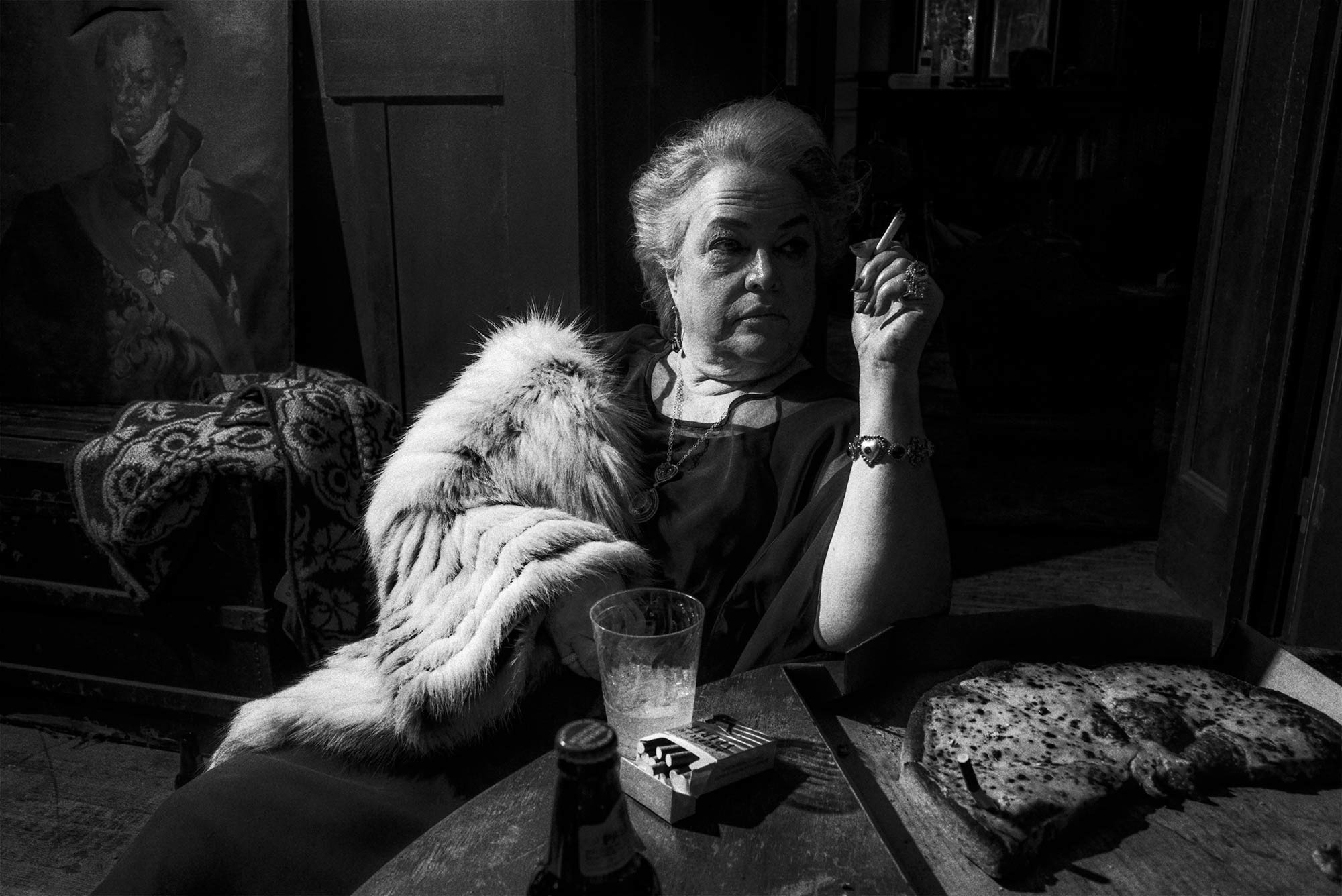 KathyBates sitting for lady gaga v magazine shoot by Chadwick Tyler american horror show