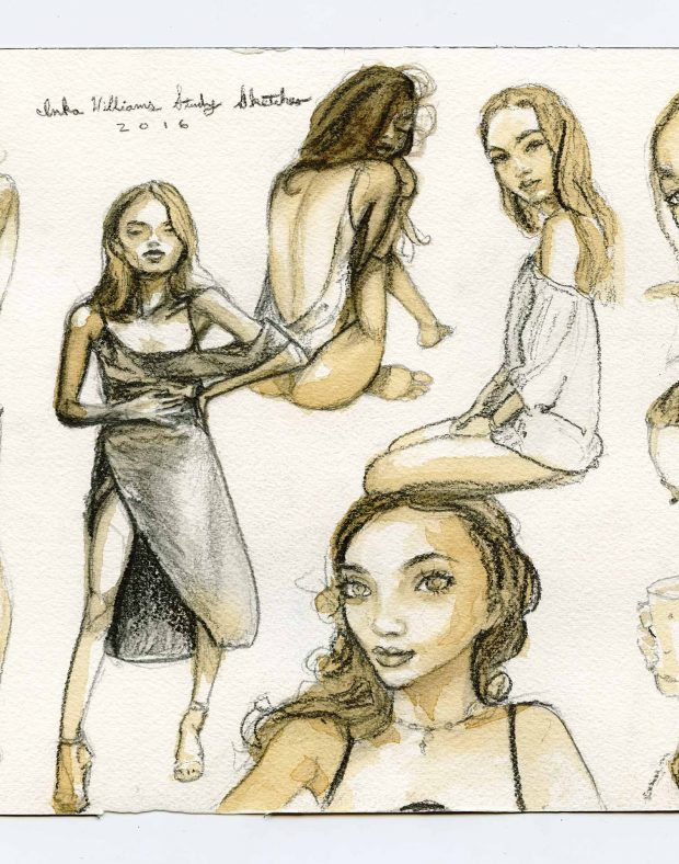 Inka Williams – Study Sketches