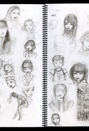 Lost in Sketches.