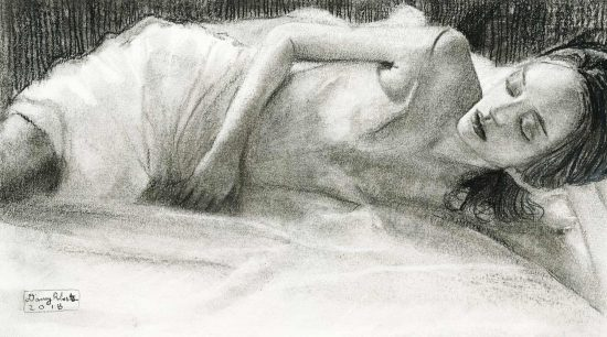 Gemma Charcoal Study