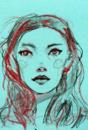 Julia Hafstrom Post-it Sketch