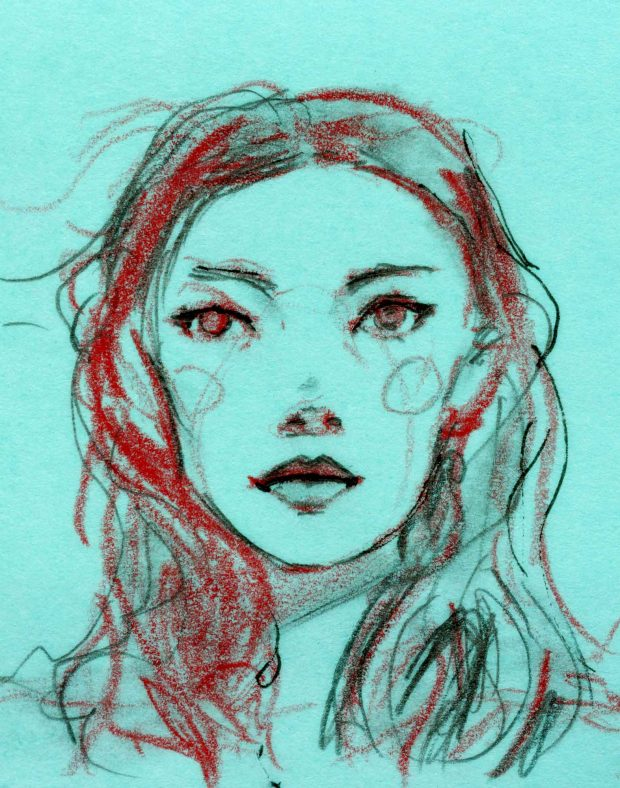 Julia Hafstrom Post-it Sketch