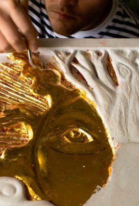 Water Gilding - 24k Gold Leaf